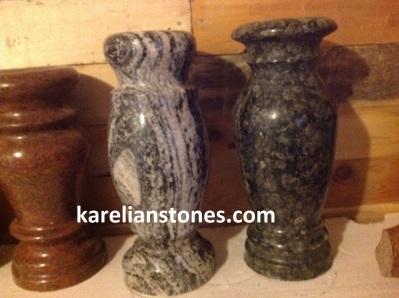 вазы из природного камня