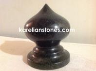 декоративная ваза из габбро диабаза