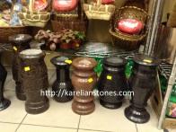 вазы из натурального камня от производителя - karelianstones.com