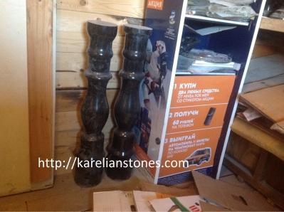 балясины из природного камня от производителя - karelianstones.com